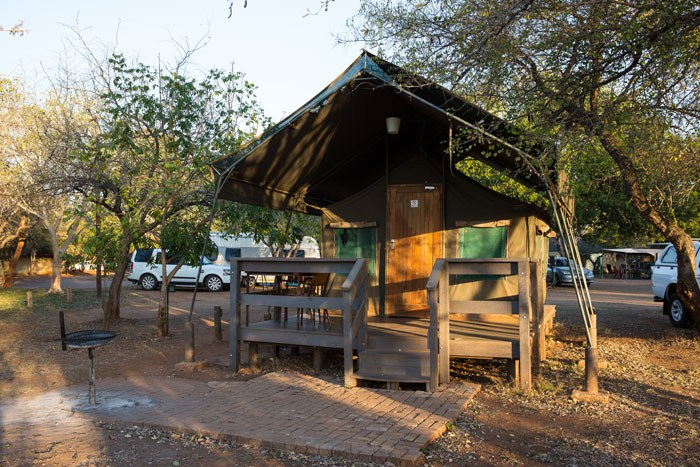 Crocodile Bridge Tent