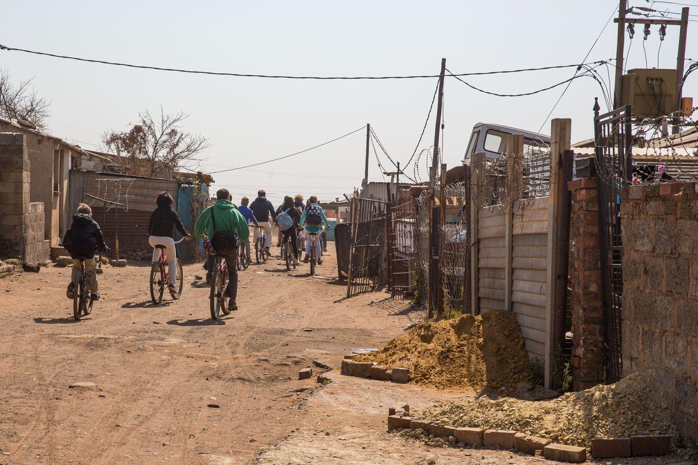 Cycling Soweto