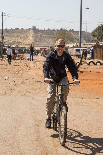 Tim Biking Soweto