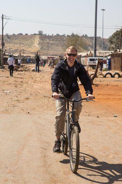 Tim Biking Soweto