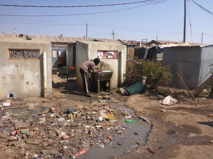 Washing Clothes in Soweto