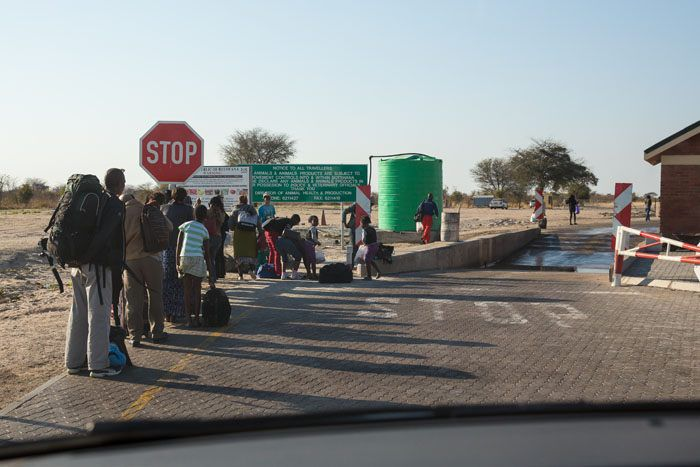 Botswana Road Stop