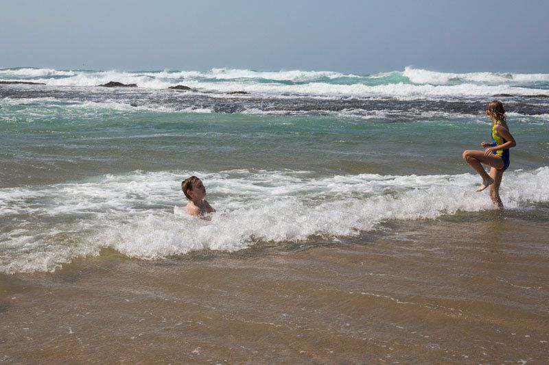 Swimming Indian Ocean