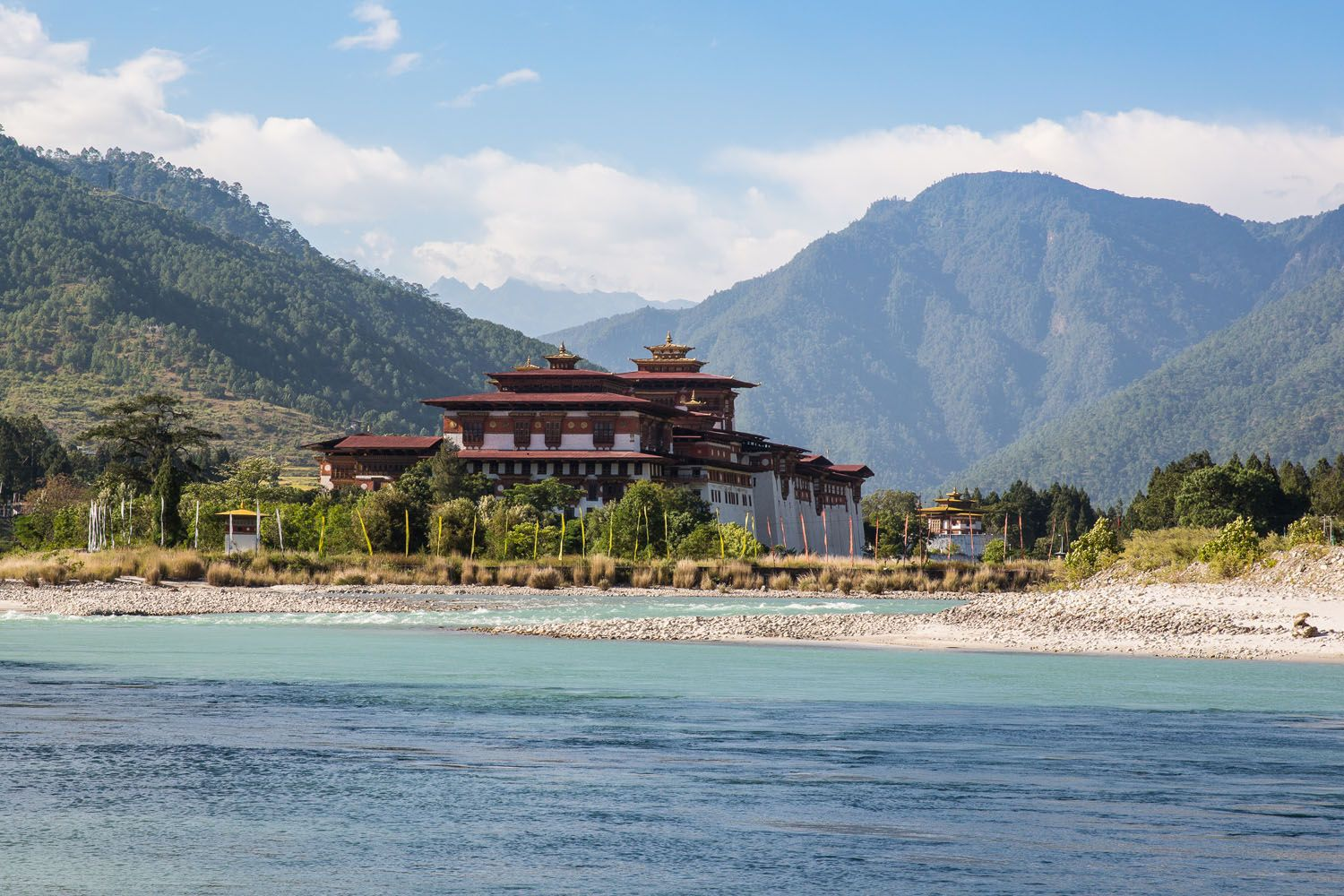 Punakha Dzong from River
