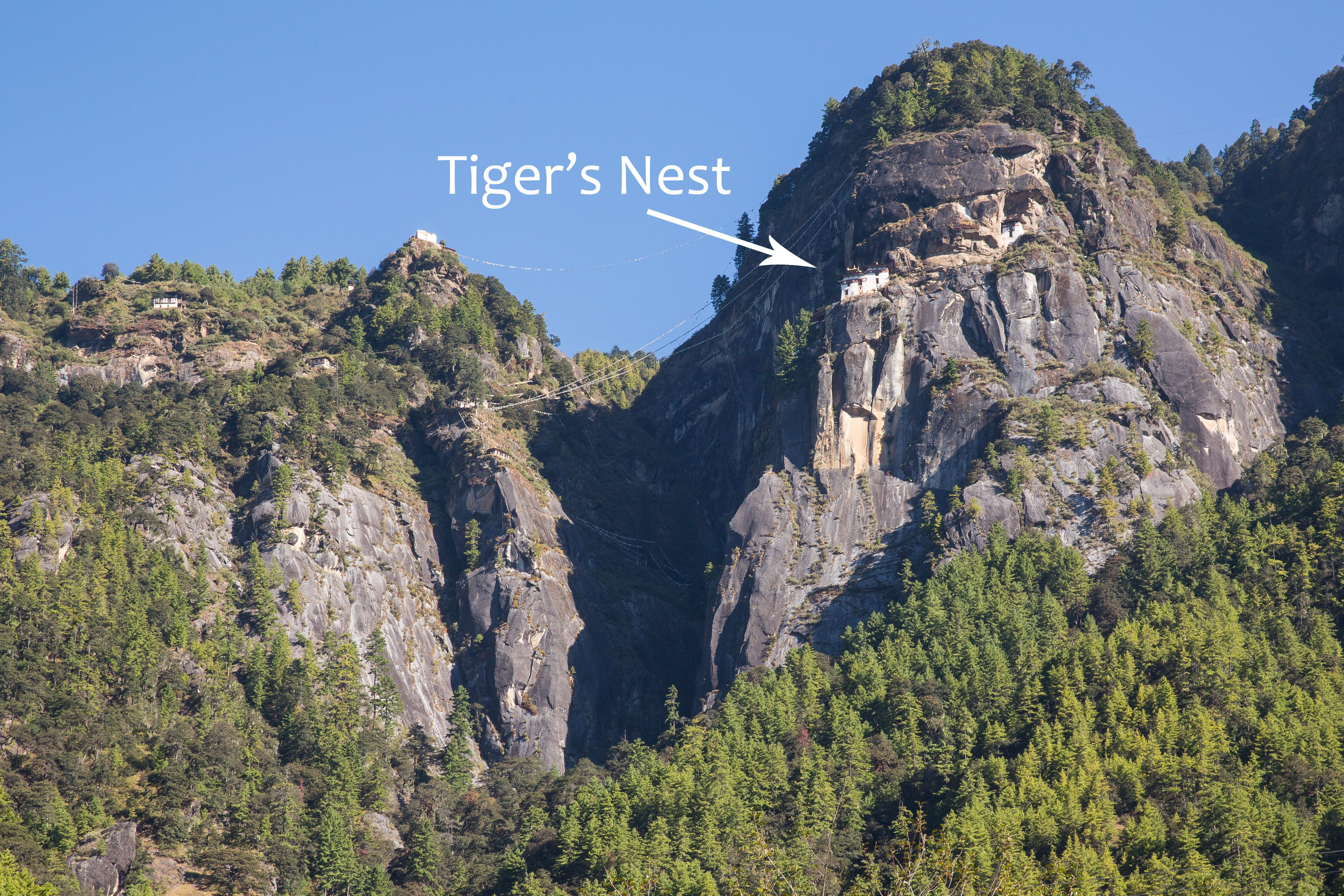 Tiger's Nest from Below