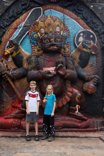 Tyler and Kara Hindu God