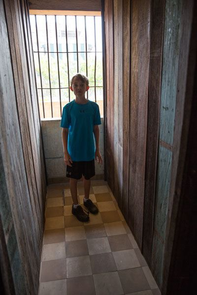 Tuol Sleng Prison Cell
