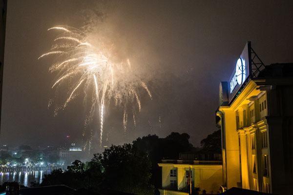 Tet Fireworks Hanoi