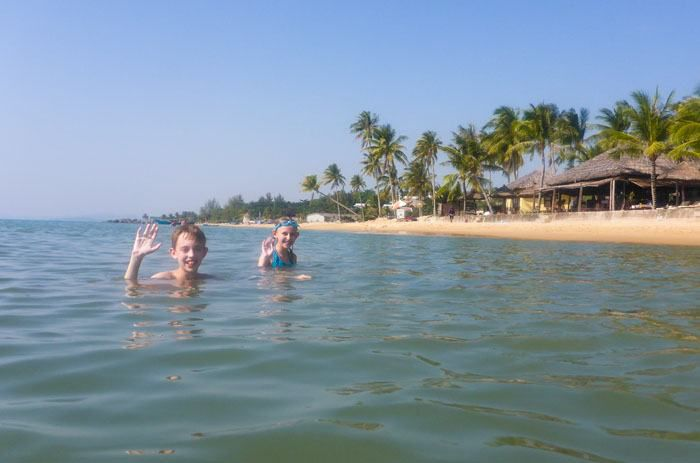Tyler and Kara at Phu Quoc