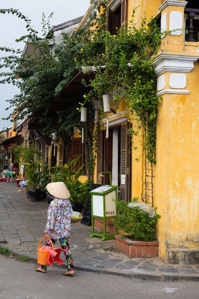 Vietnamese Woman in Hoi An