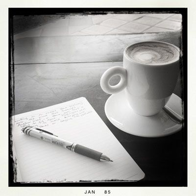 Coffee and my Journal