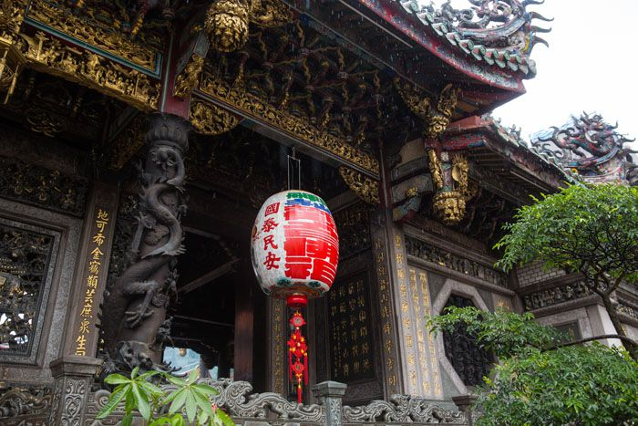 Lungshan Temple Lantern