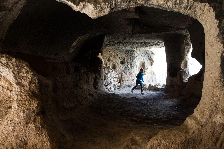 Cave in Soganli