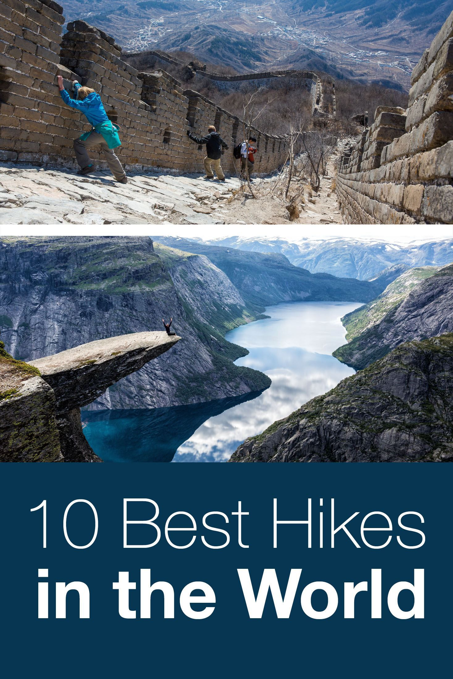 10 Best Hikes in the World