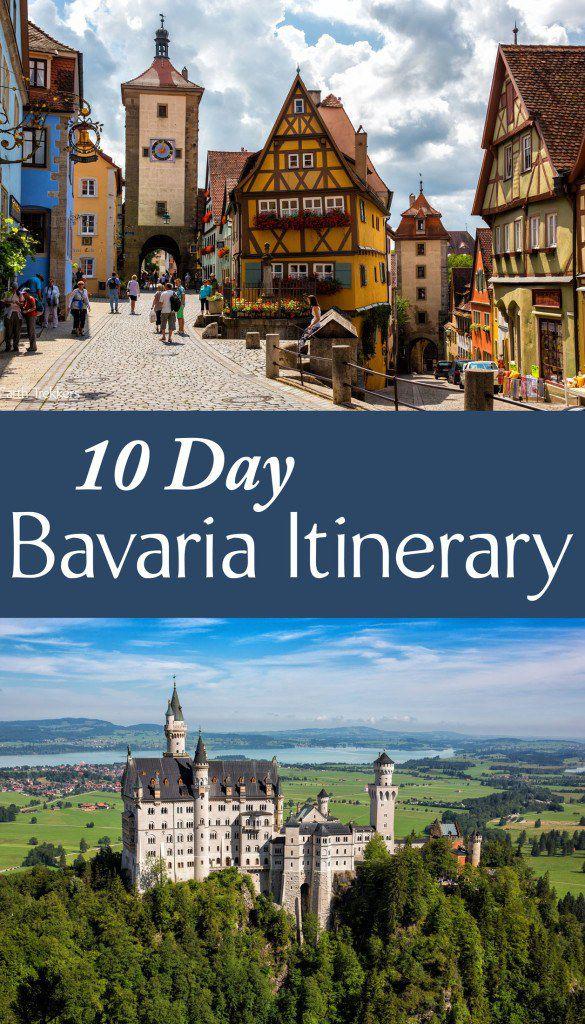10 Day Bavaria Itinerary