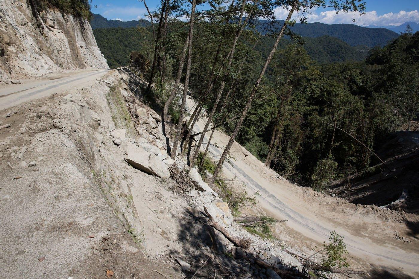 Bhutan Road Construction