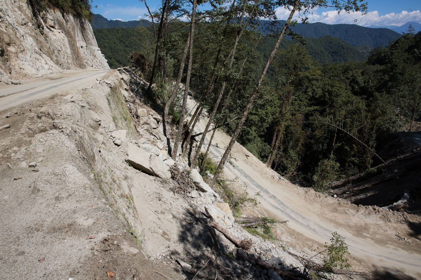 Bhutan Road Construction