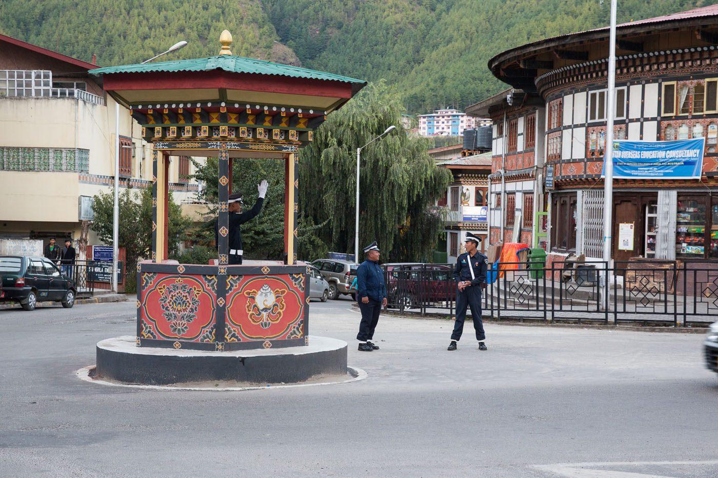 Bhutan Traffic Police