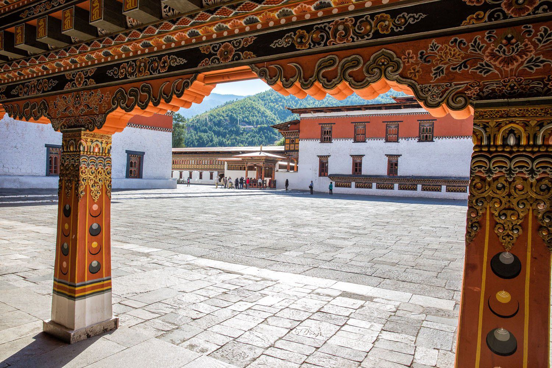 Bhutan Woodwork