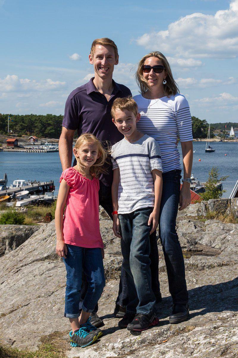 Earth Trekkers in Sandhamn