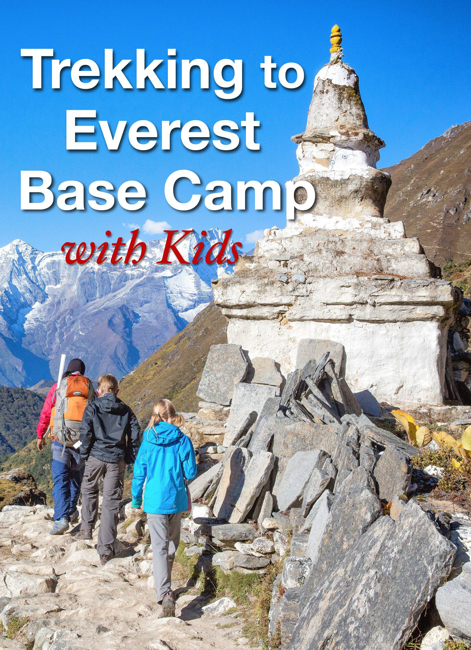 everest base camp with kids