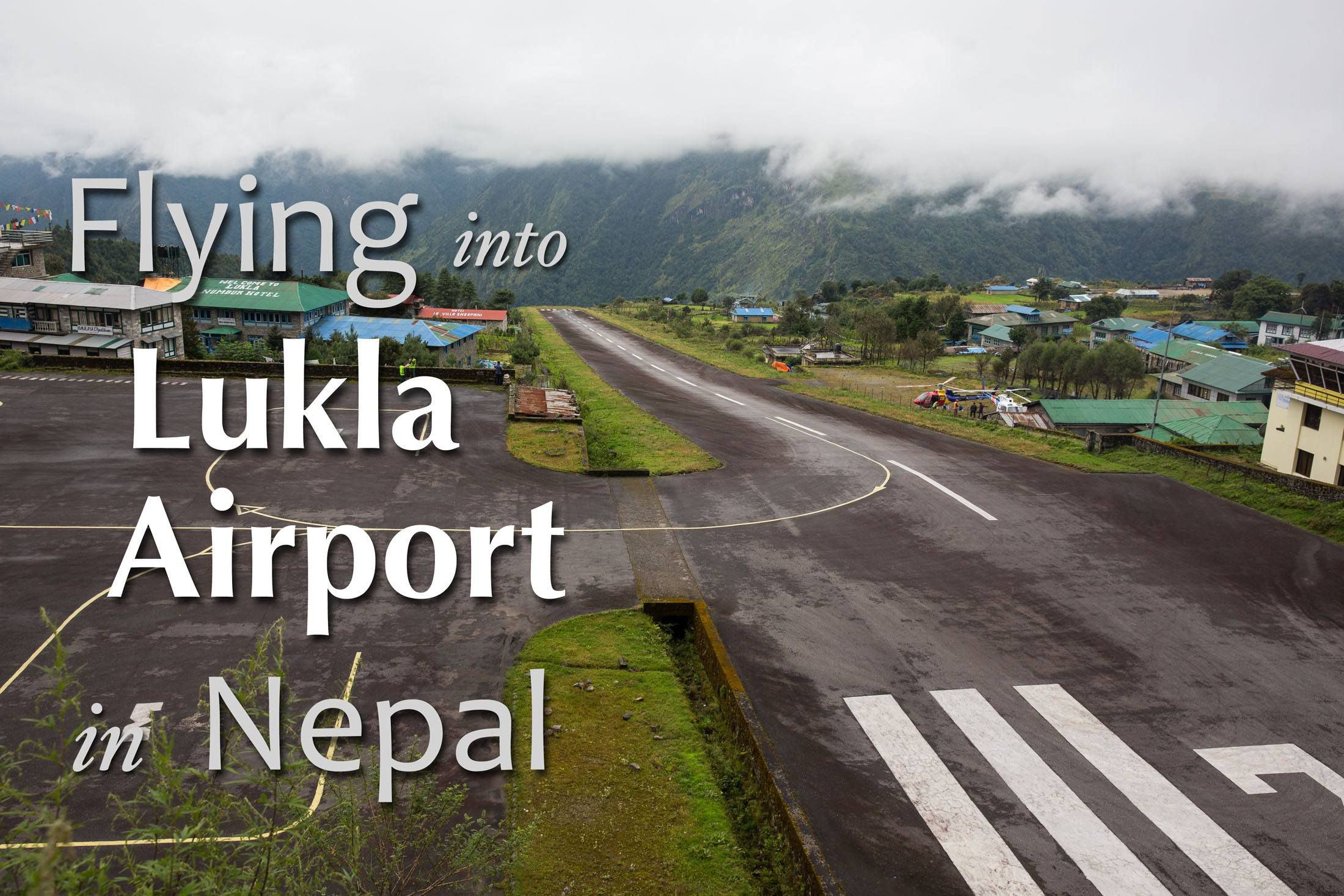 flying to lukla