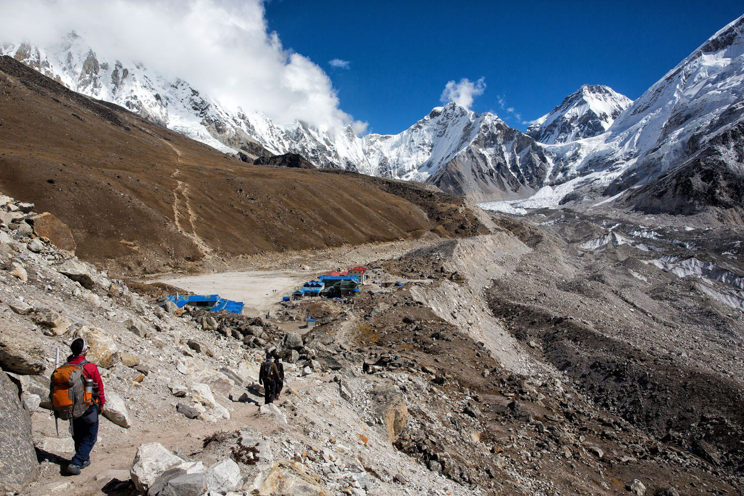Gorak Shep and EBC everest base camp trek