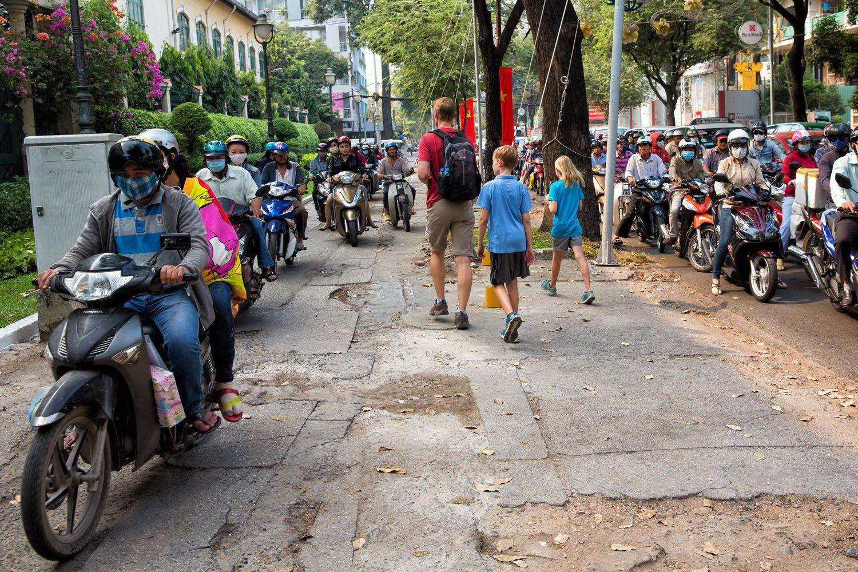 HCMC Sidewalk