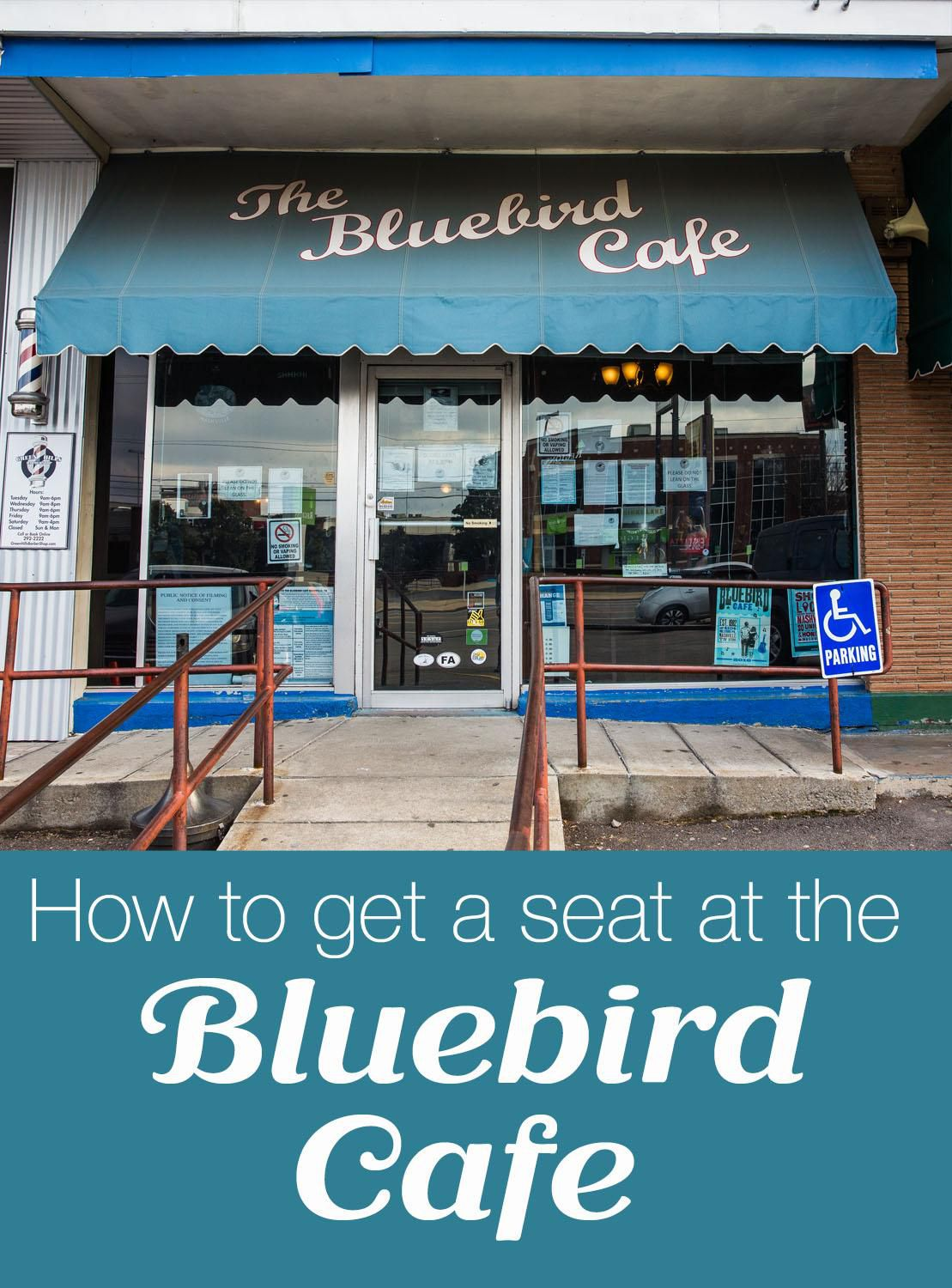 How to get a seat at the Bluebird Cafe