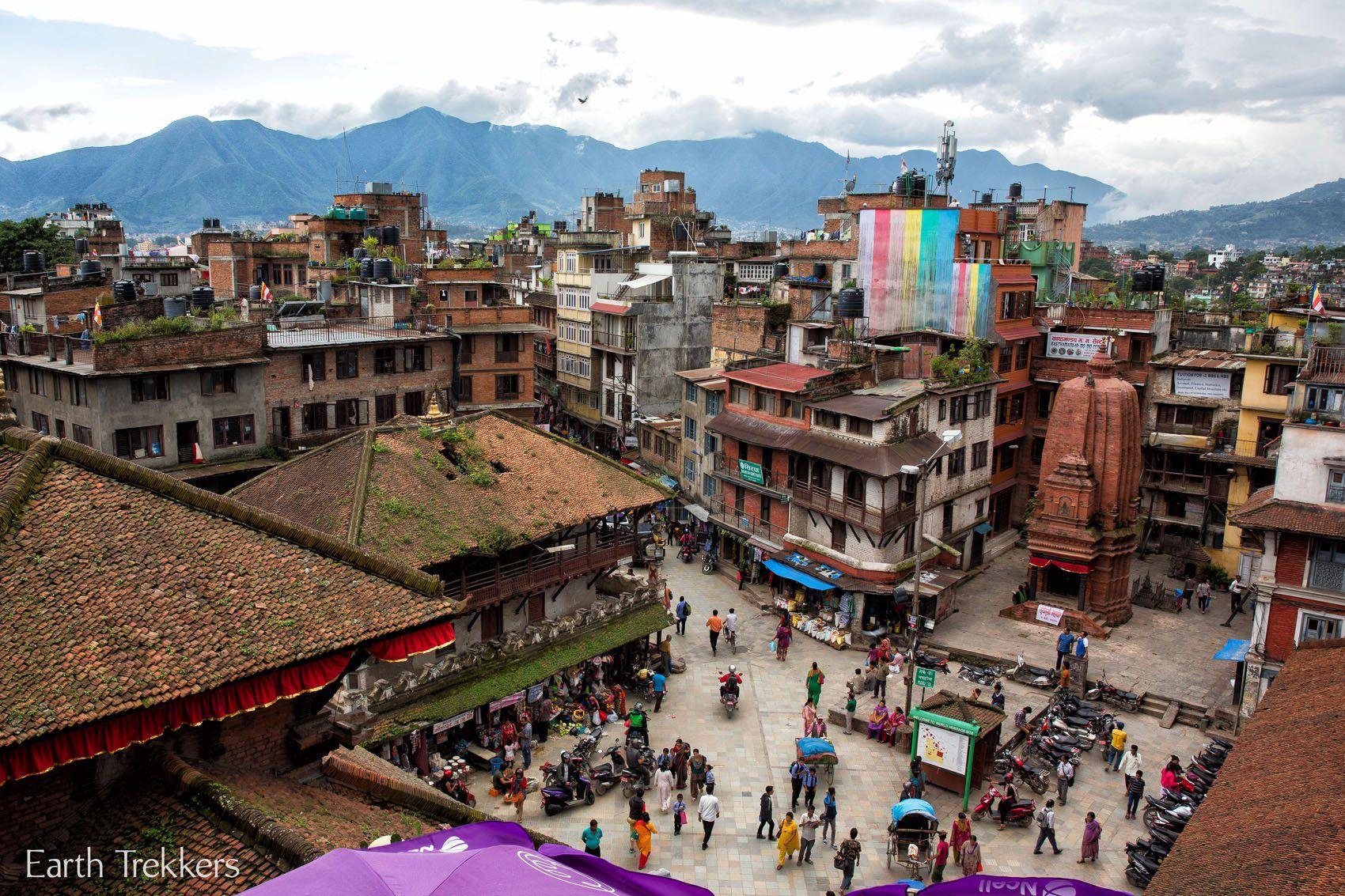 Kathmandu from High