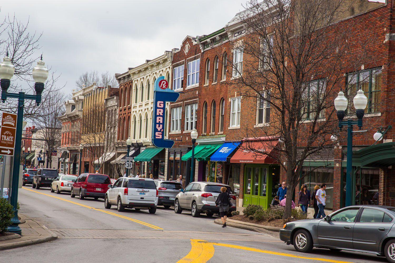 Main Street Franklin Tennessee