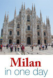 Milan in One Day