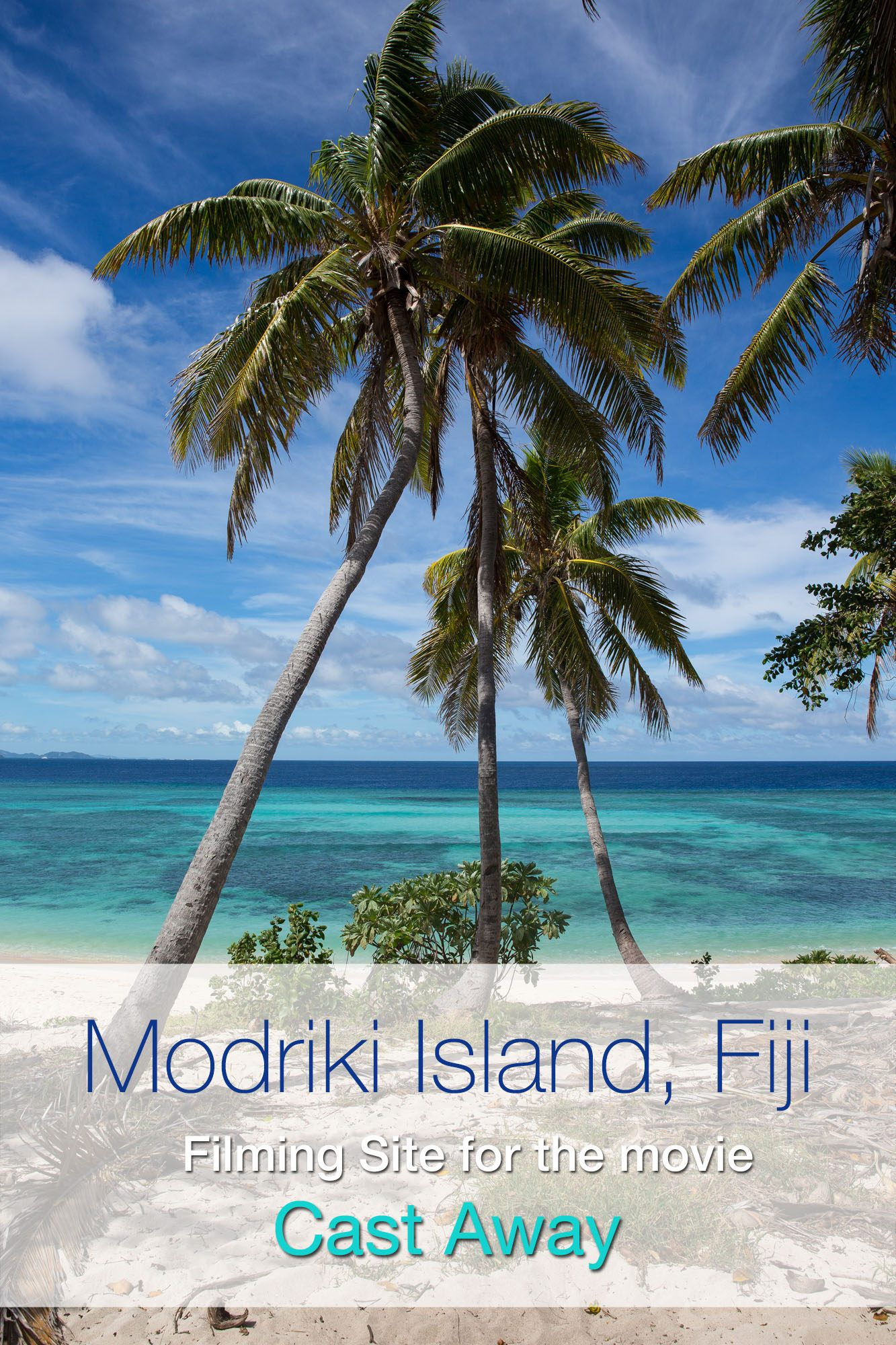 Modriki Island Fiji Cast Away