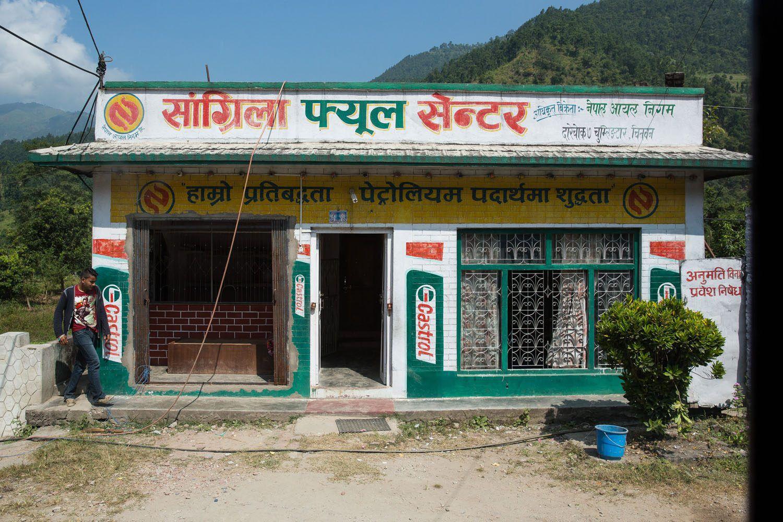 Nepal Truck Stop