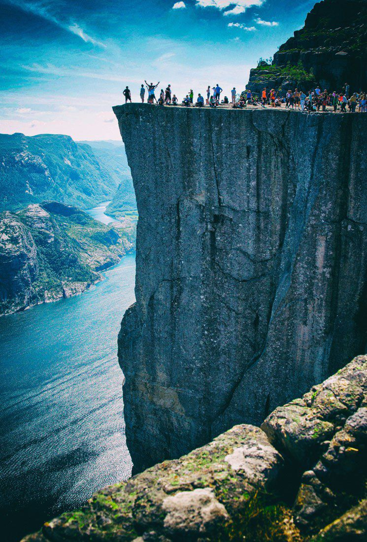 Pulpit Rock Norway
