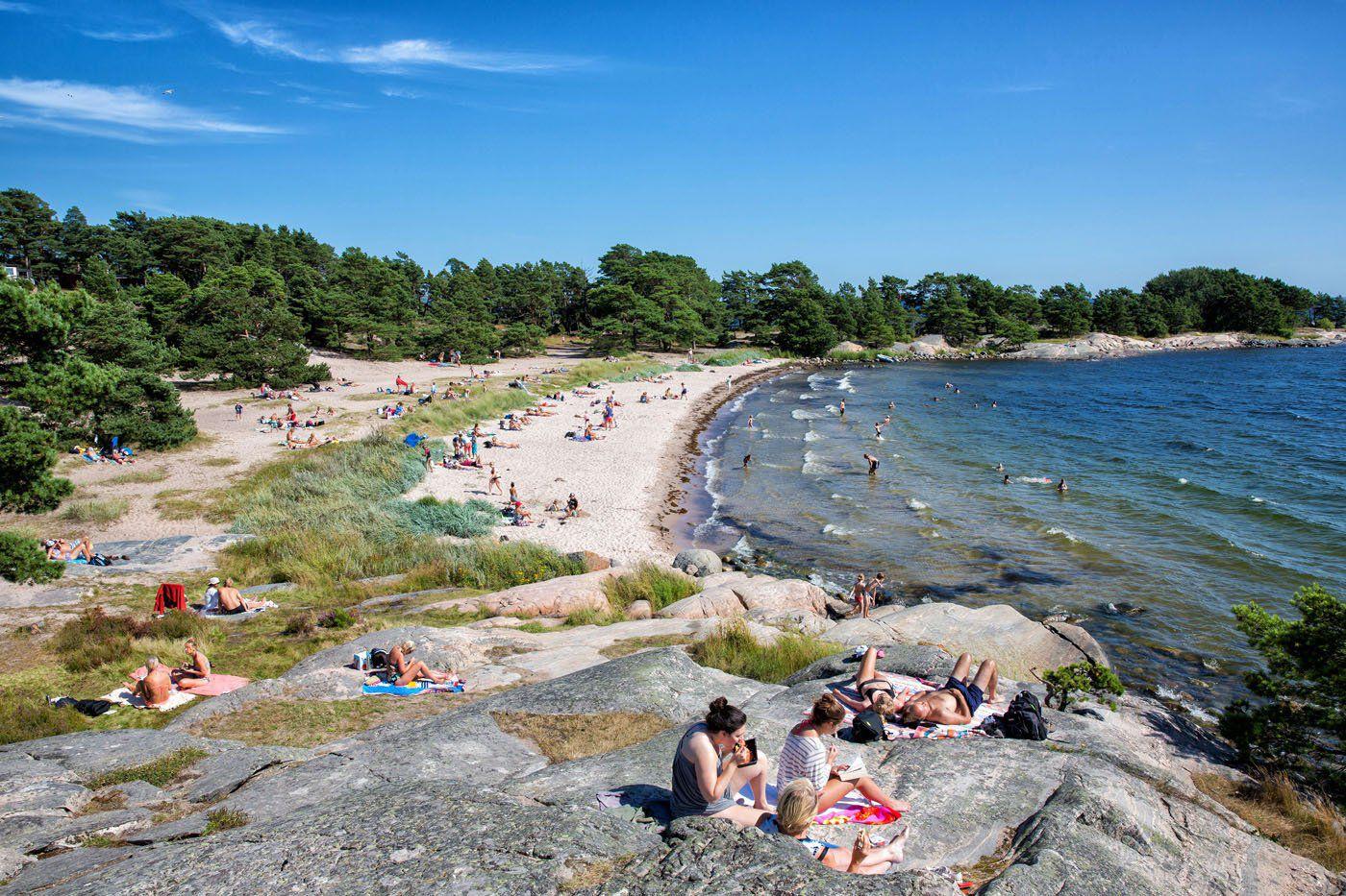 Sandhamn Sweden Beach
