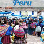 Shopping at the Pisac Market in Peru