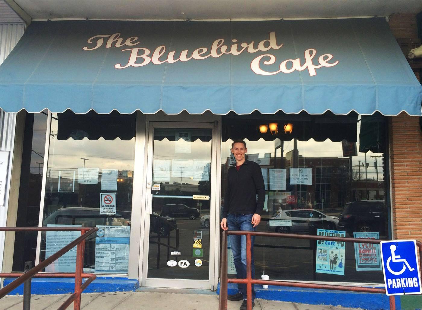 Tim at Bluebird Cafe