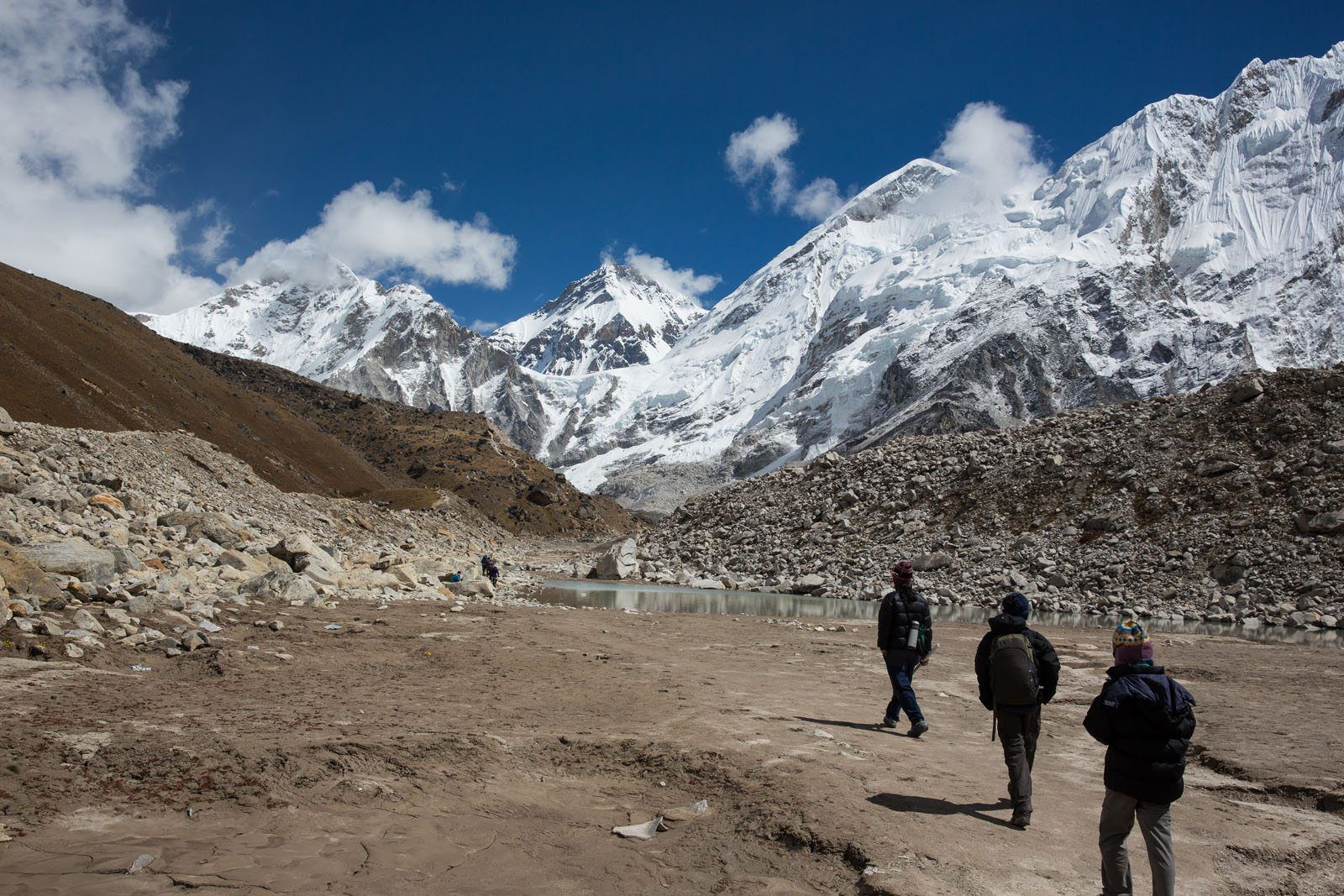 Trekking everest base camp trek