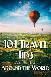 101 Travel Tips Traveling Around the World