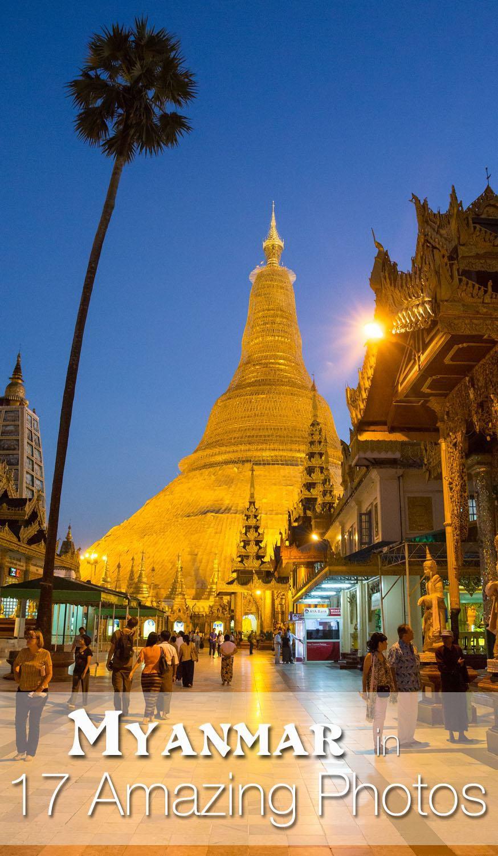 17 Amazing Photos Myanmar