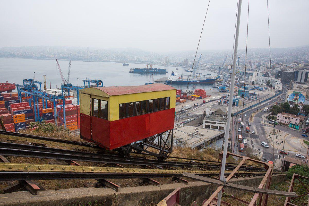 Acensor Artilleria Valparaiso