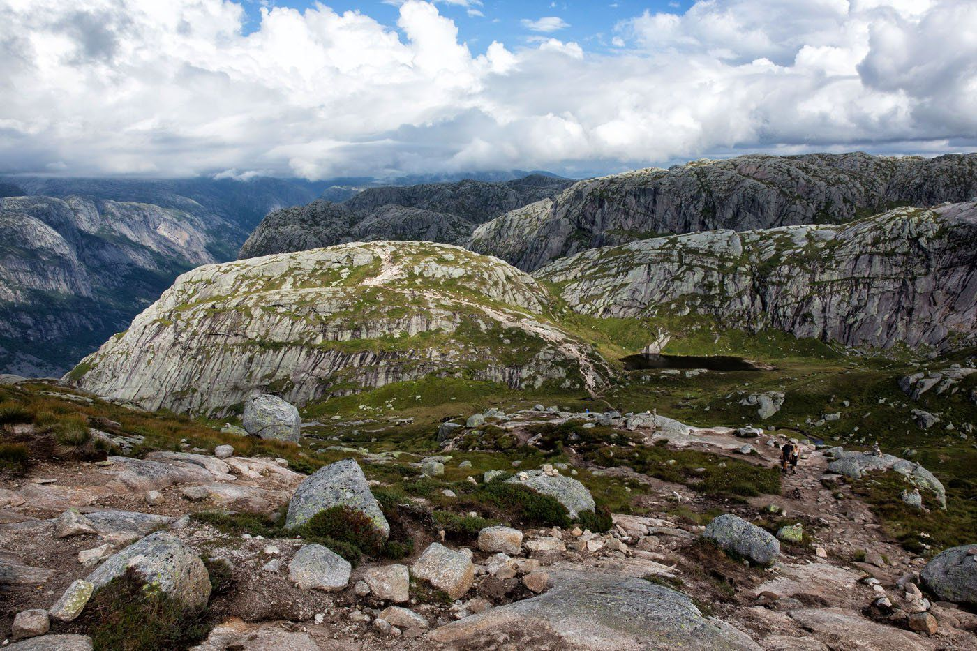 Another View Kjerag Hike