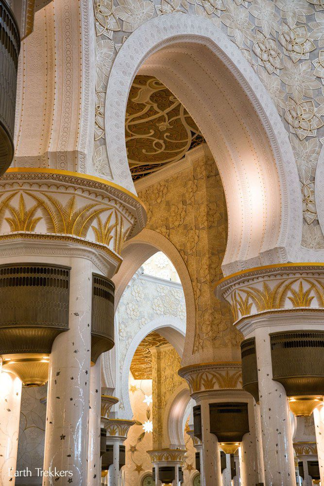 Arches Grand Mosque Abu Dhabi