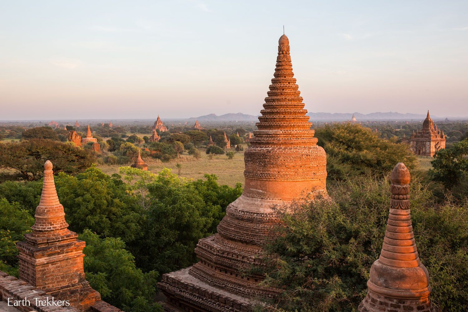 Bagan Sunset