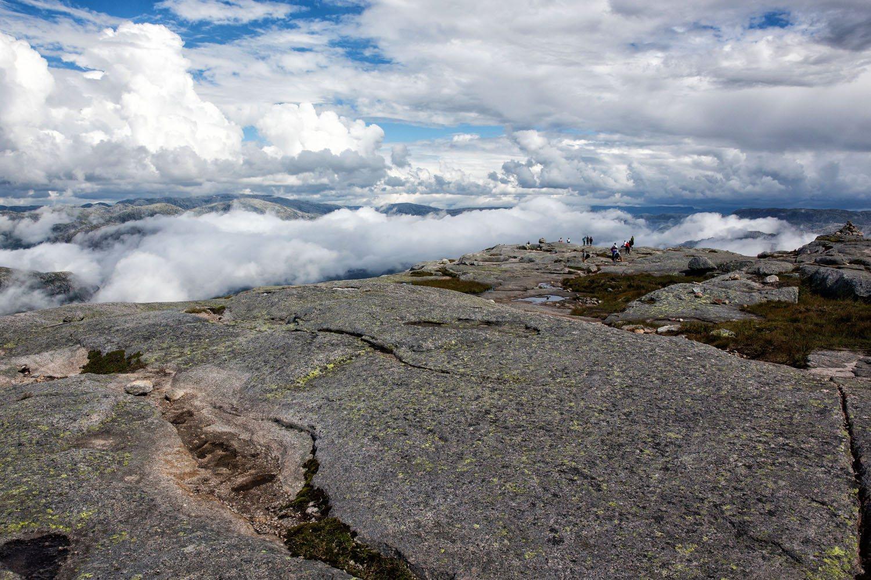Beautiful View on Kjeragbolten Hike