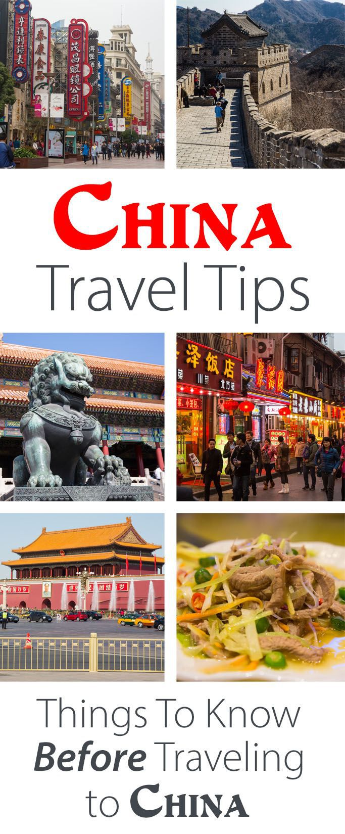 Best Tips for Traveling in China