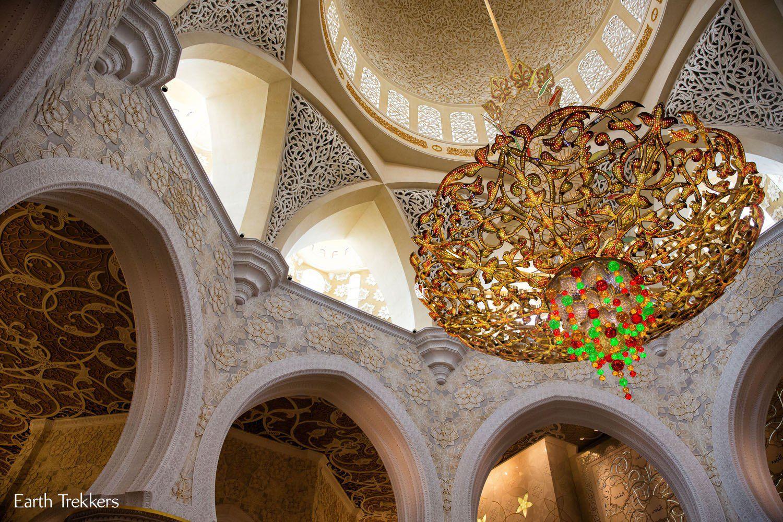 Chandelier Grand Mosque