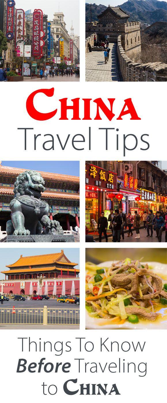 China Travel Tips