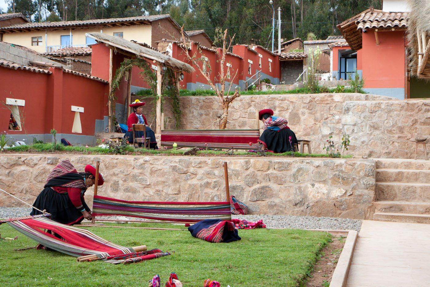 Chinchero Weaving Lesson